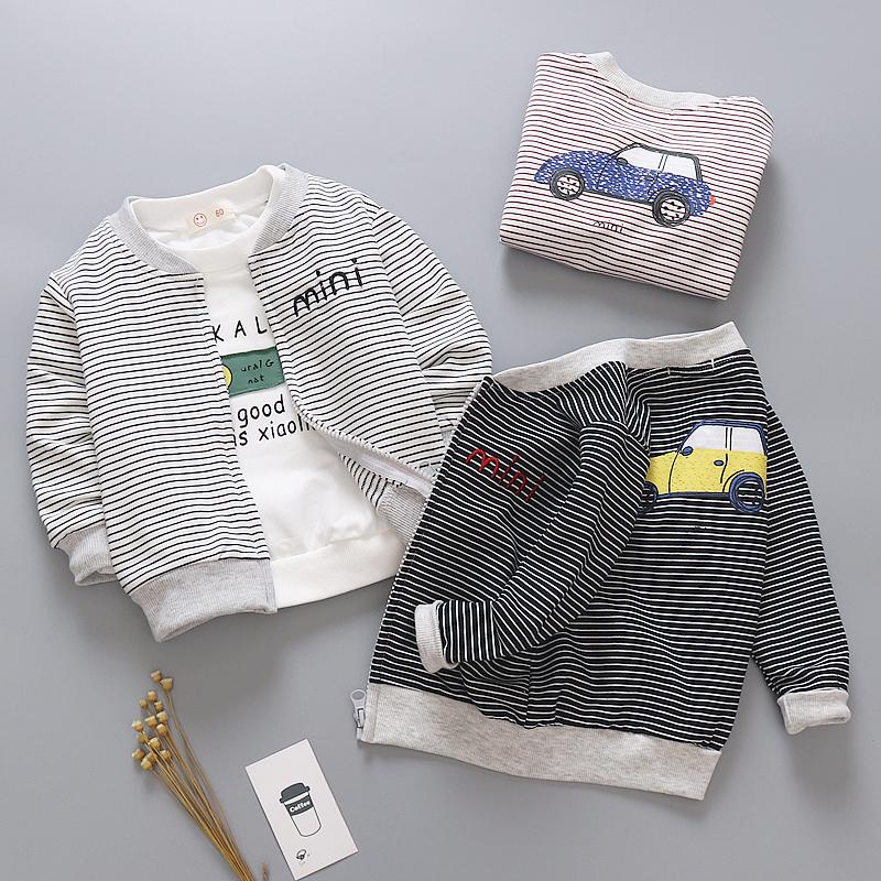外套宝宝春季婴儿0-1-3岁服装男童v外套女童童装儿童开衫薄款春装