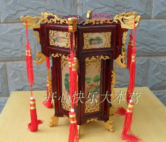 Buy Antique Handcrafted Buddha Lantern For Corporate: Antique Palace Lamp Chinese Lantern-chinesedeco.com