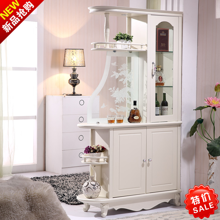 USD 406.67] New-style European room cabinet double-sided hall ...