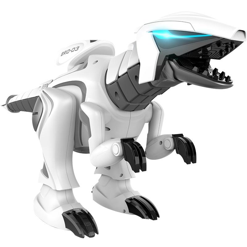 大号遥控恐龙儿童玩具男孩机器人电动会走路的霸王龙仿真动物礼物