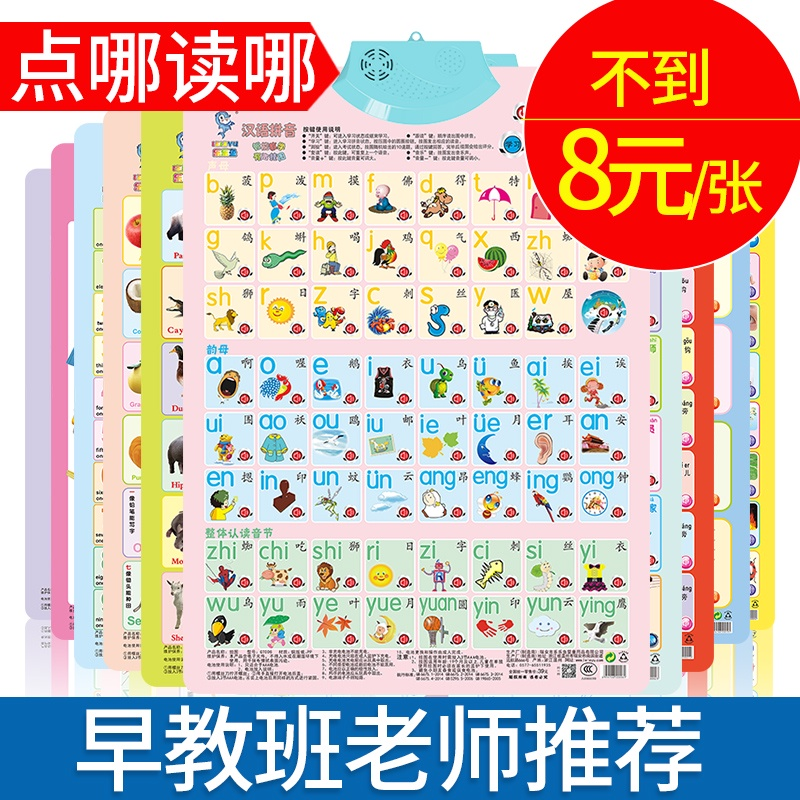 Sound Mother Has A Sound Wall Chart Early To Teach Children To Learn Artifact Spelling Training Chinese Phonetic Alphabet Wall Sticker