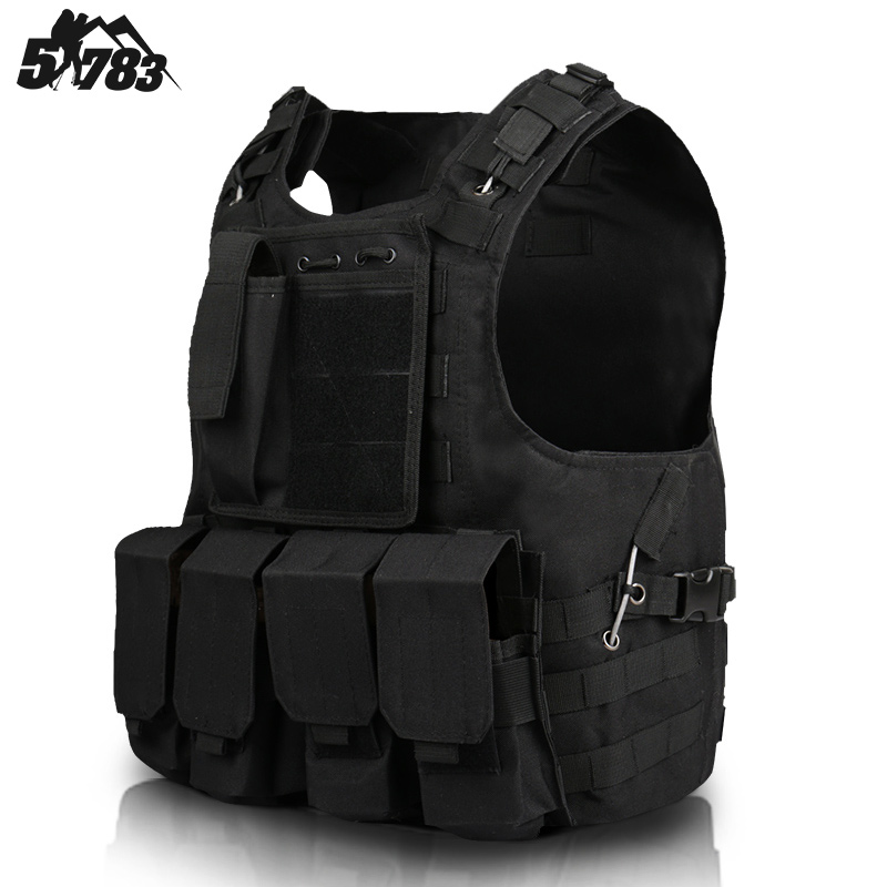 51783 Outdoor fans camouflage tactical vest lightweight special forces tactical armor real CS equipment