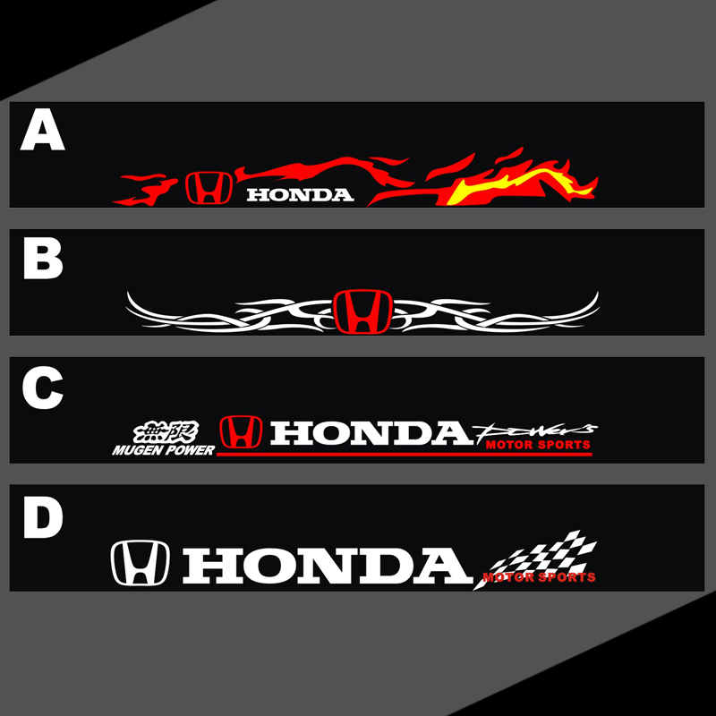 Auto Honda Accord Odyssey Song Poem Touth Ming Front Bumper - Stickers for honda accord
