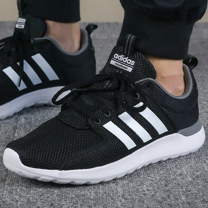 promo code 65afc 8ac70 Adidas men s shoes 2018 autumn new sports shoes NEO mesh casual shoes  breathable shoes running shoes