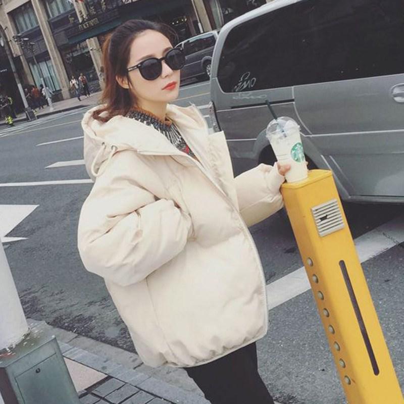 Phiên bản Hàn Quốc của mùa đông 2018 mới xuống quần áo độn bông quần áo phụ nữ ngắn đoạn lông bông học sinh áo khoác bông