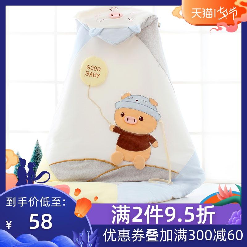 Túi sơ sinh, mùa hè, mùa thu, mùa đông, em bé, bông, sơ sinh, chăn nhỏ, đồ dùng cho em bé, dày lên, tách ra - Túi ngủ / Mat / Gối / Ded stuff