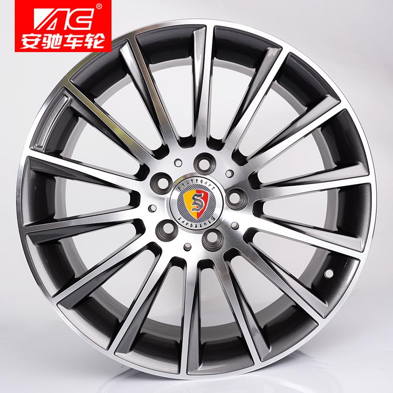 奔驰于新款适用C350AMG款18寸车轮AC安驰轮毂盖C260C200E26