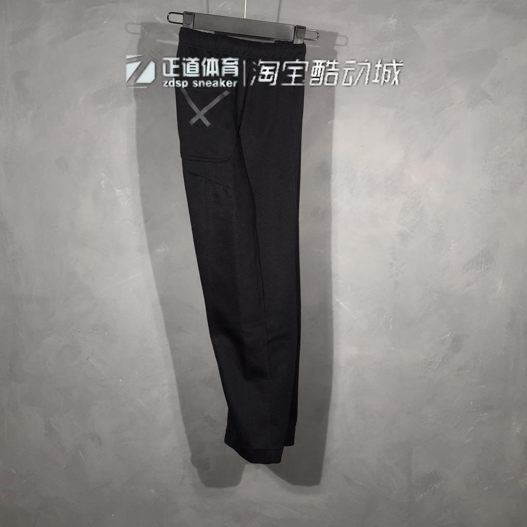 虎撲運動 Adidas阿迪達斯三葉草男子XBYO運動褲透氣針織時尚休閒長褲CD6895