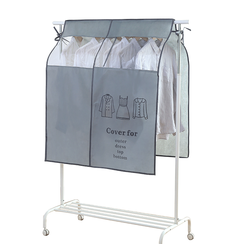 Clothes storage bag hanging clothes three-dimensional dust bag non-woven floor racks dust cover cover cloth home  sc 1 st  Ebuy7 & Clothes storage bag hanging clothes three-dimensional dust bag non ...