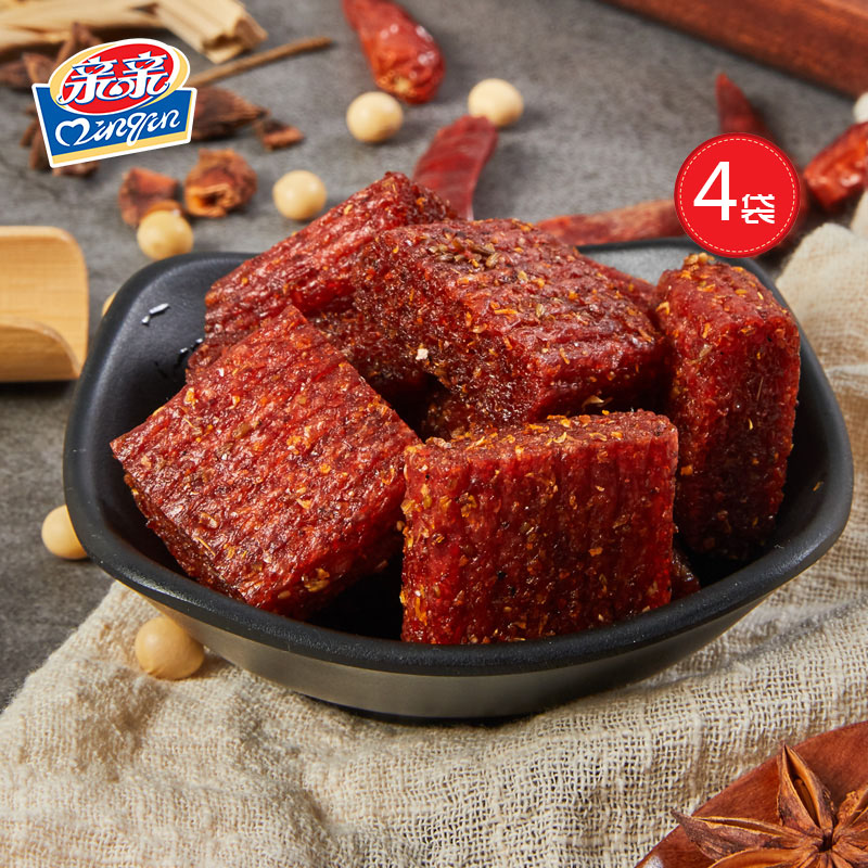 亲亲大刀肉辣条麻辣片面筋网红香辣素肉怀旧儿时零食小吃休闲食品