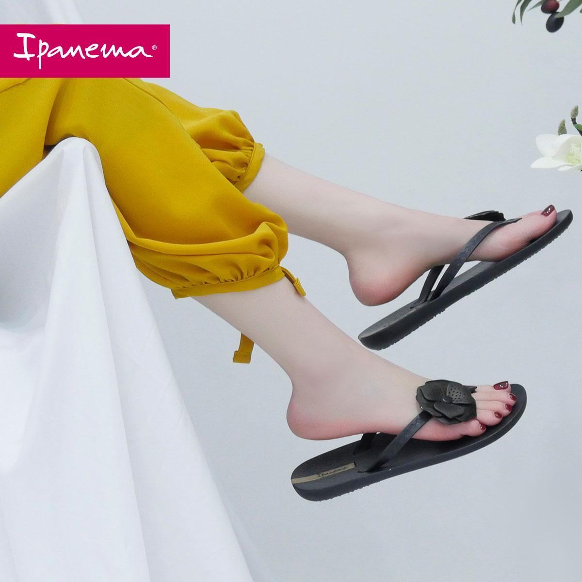 巴西 ipanema 依帕内玛 山茶花系列 女式夹趾拖鞋 凉鞋 天猫优惠券折后¥209包邮(¥239-30)多色可选