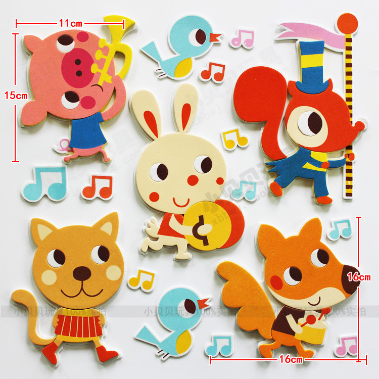 Kindergarten wall decoration stickers classroom environment layout ...