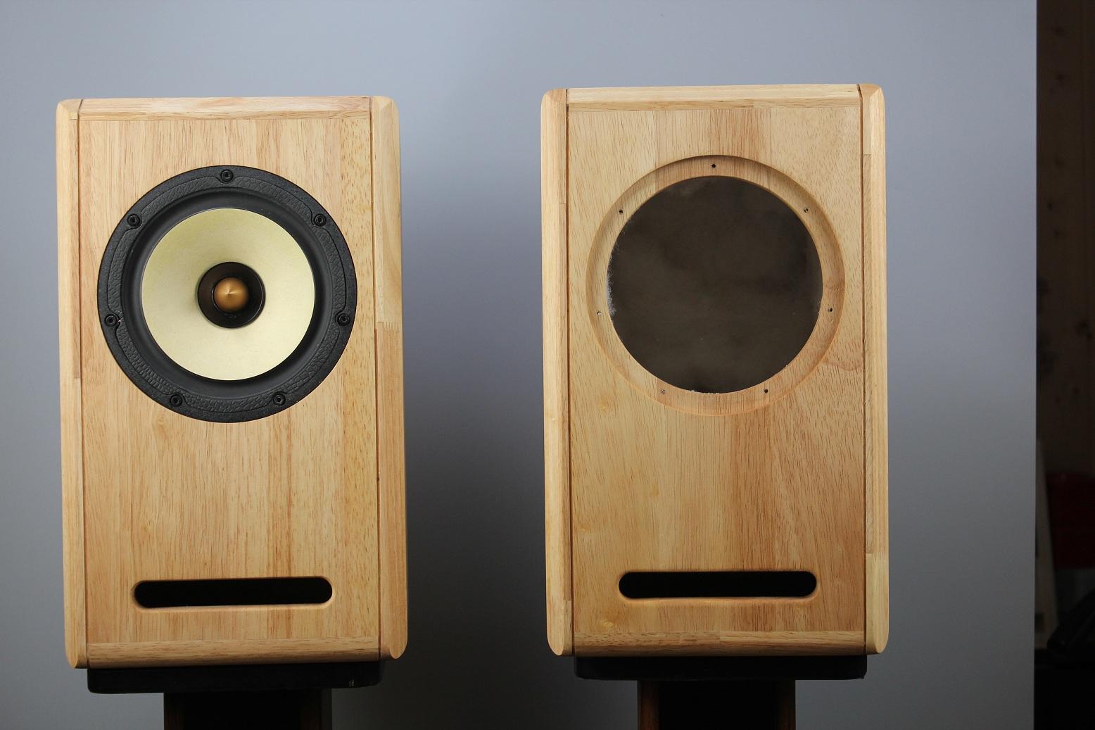 Solid Wood Full Frequency Labyrinth Speaker 6 5 Inch Empty Box Diy Custom Transmission Line Full Range Speaker Empty Box