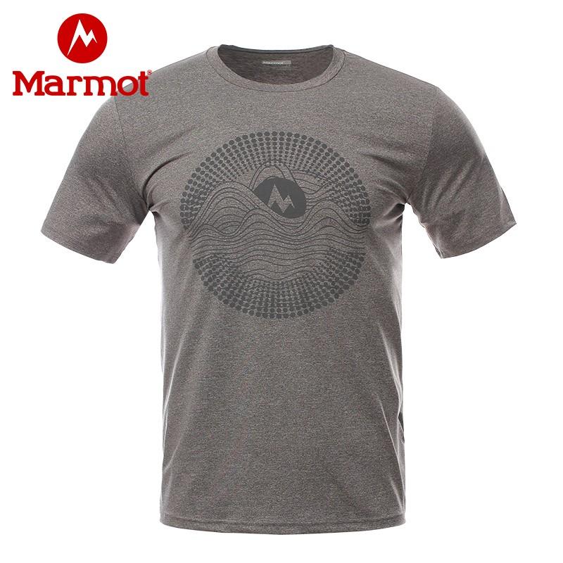 Marmot 土拨鼠棉感速干 男式短袖T恤 H44253 天猫优惠券折后¥99包邮(¥169-70)4色可选