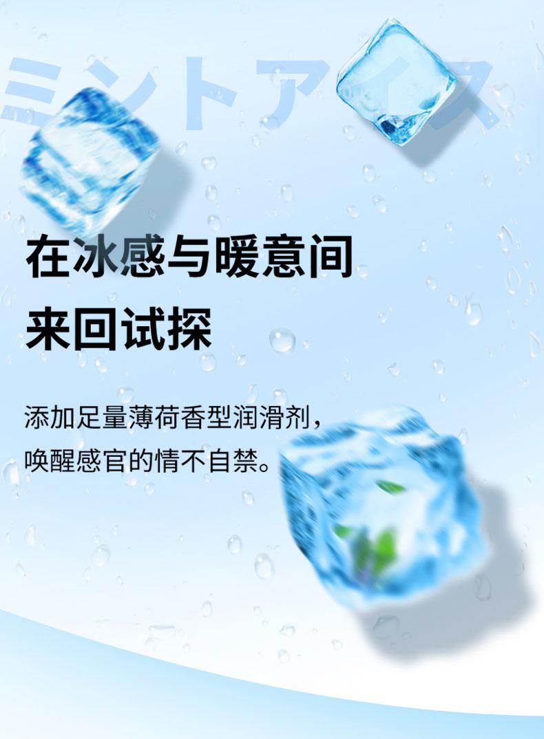 日本进口 冈本新品 滑感颗粒情趣避孕套 18只组合装 图3