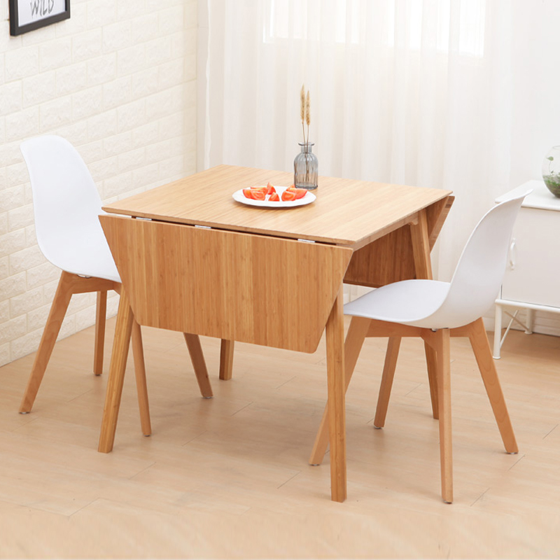 Usd 242 14 Nanzhu Foldable Table Simple Modern Dining Table Stitching Creative Desk Chair Combination Solid Wood Living Room Table Wholesale From China Online Shopping Buy Asian Products Online From The