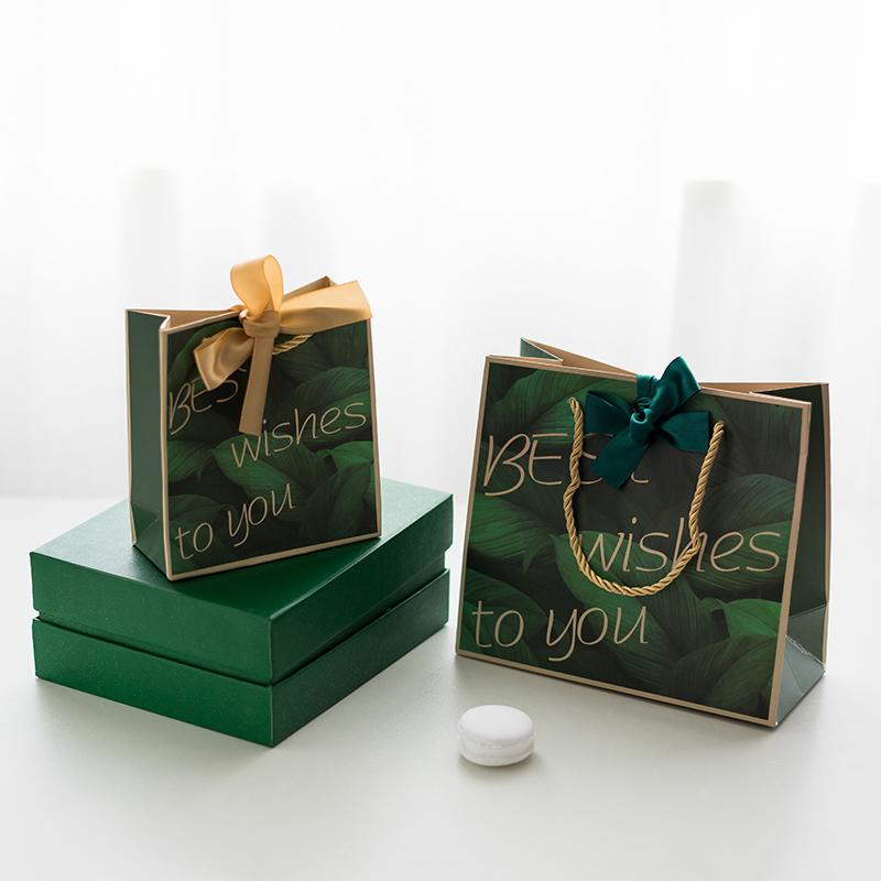 ins风礼品袋小袋子服装袋纸袋包装袋大号创意生日回礼手提袋礼物