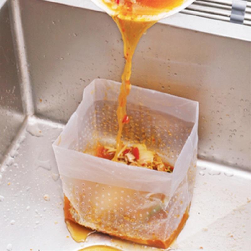 【万家福】厨房自立式垃圾袋水池过滤网