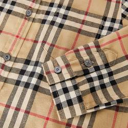 BURBERRY/Burberry flannel shirt 80177921