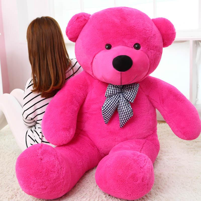 (80CM 180CM)GIANT BOW TIE BIG CUTE PLUSH STUFFED TEDDY BEAR SOFT 100%  COTTON TOY | EBay
