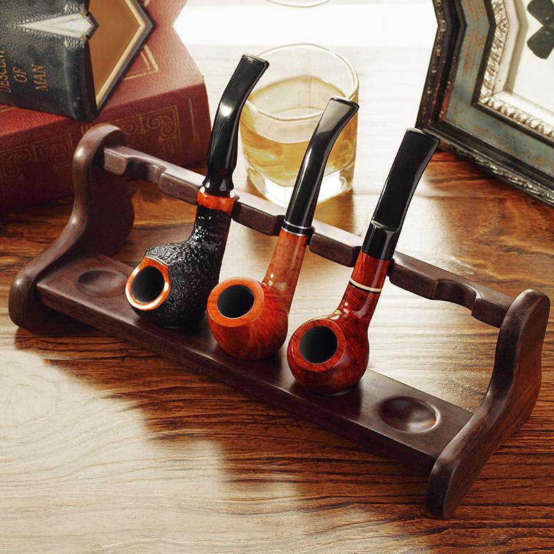 Расходные материалы для труб ADOUS черный Консоль для труб из сандалового дерева L-образная пятисекционная труба для труб