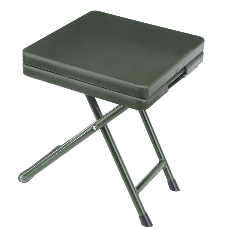 Troops folding Chair field soldiers learn stool Army fans Outdoor portable folding stool Writing chair Soldier Learning Chair