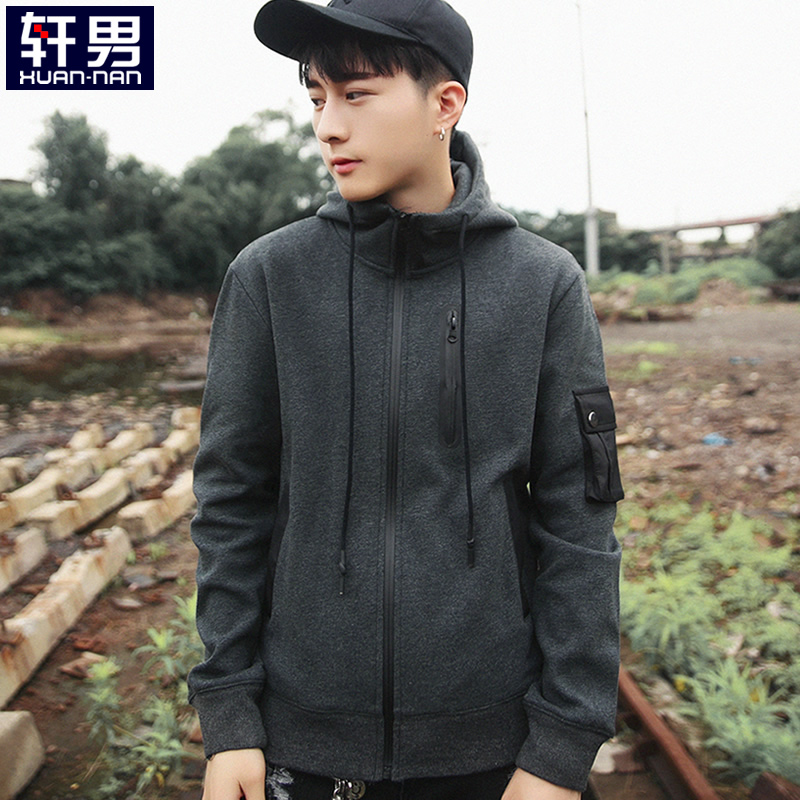 Dark Gray [w032 Zipper Decoration]