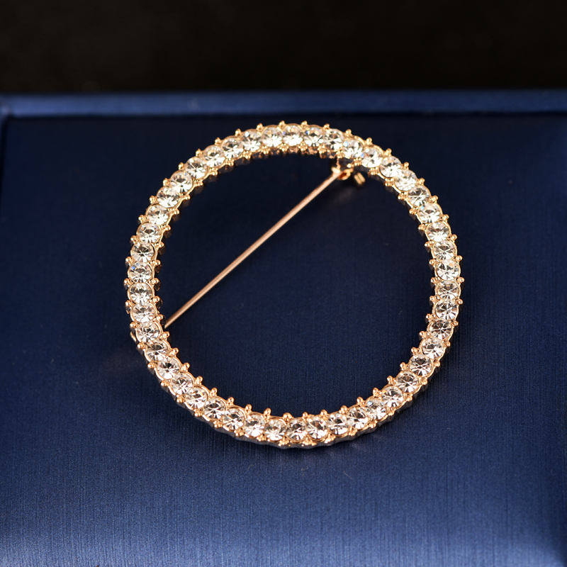 Round Gold Large 4.5cm