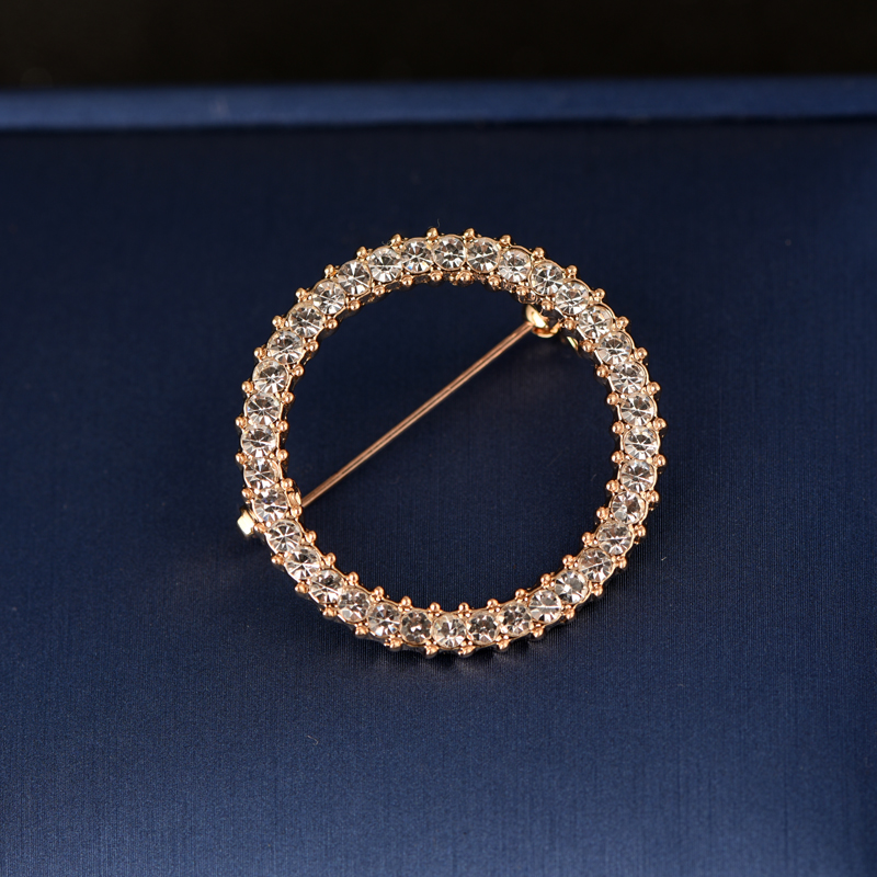 Round Gold Small Size 3.3cm
