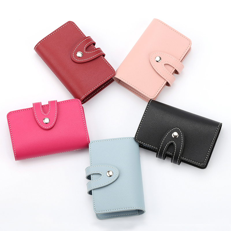 Card package women\'s Korean multi-card card holder small business ...