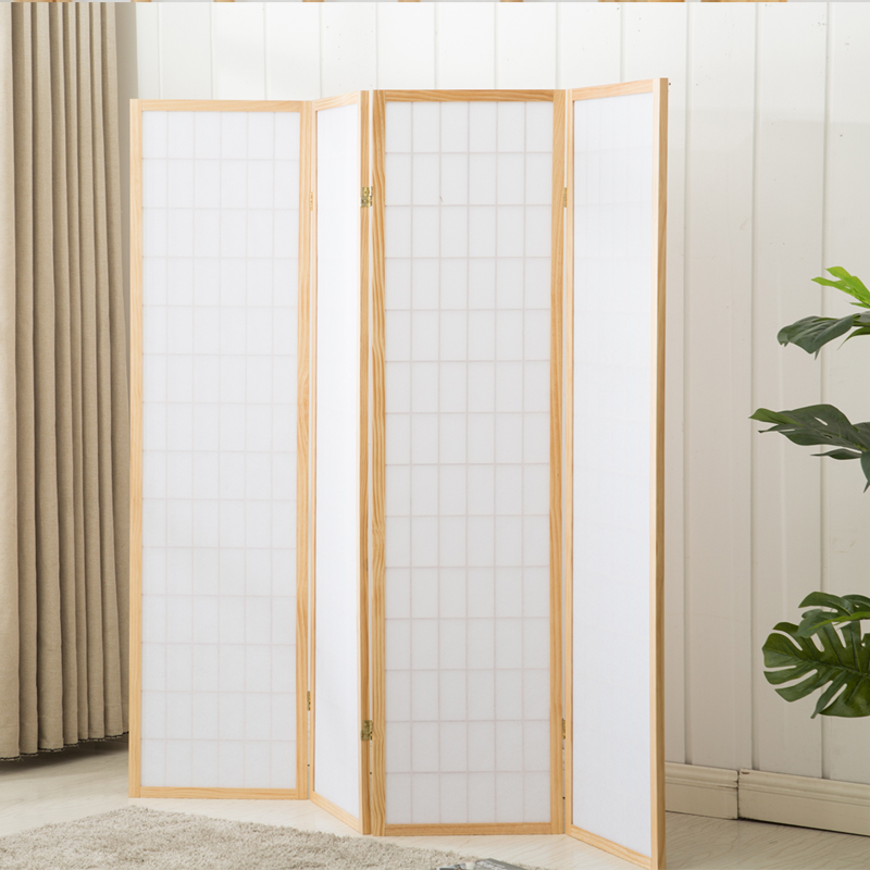 Japanese style screen partition folding screen porch living room ...