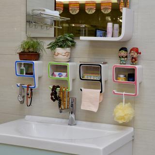 Мыльницы,  Творческий присоска мыло коробка магия бесшовный паста поглощать стена стиль туалетное мыло коробка цифровой 9 ванная комната ванная комната стеллажи, цена 155 руб