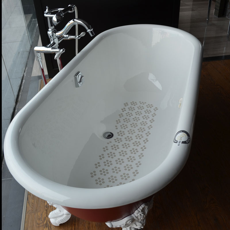 Kohler K-11195T-O/-PK/RF/RT Songle Independent Cast Iron Bathtub