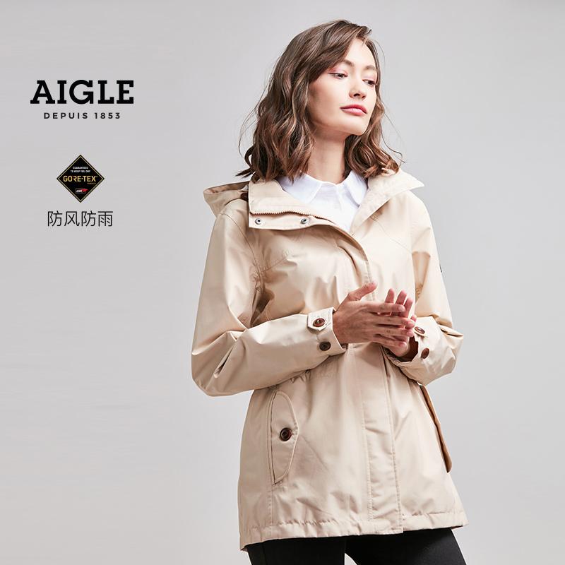 【19春夏新品】AIGLE 艾高 女士Gore-TEX休闲冲锋衣 AUDREY S9