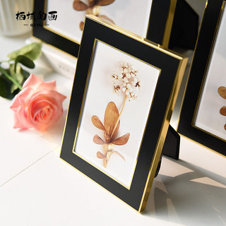 Modern simple wedding 6 inches 7 inches 8-inch 10-inch high-end metal wall Frame Layout creative vertical, horizontal light luxury