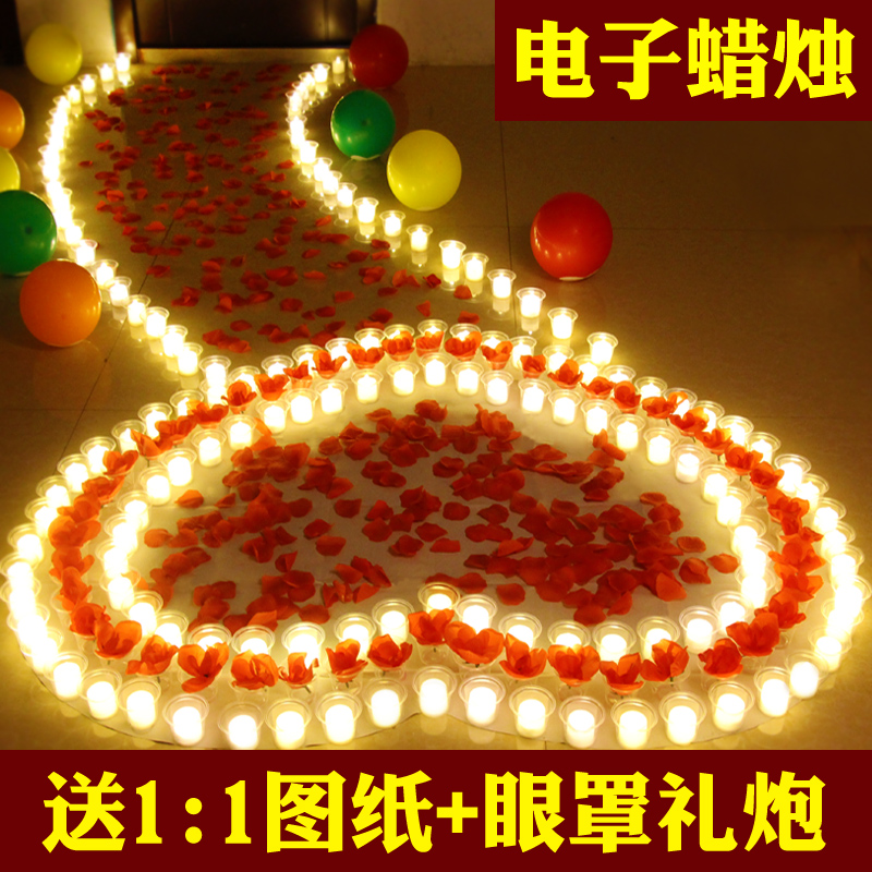 Usd 8 85 Electronic Candle Lamp Manufacturing Romantic Birthday