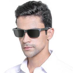 洛伊曼男士太阳镜车用眼睛偏光开车潮人大框墨镜司机驾驶眼镜1608