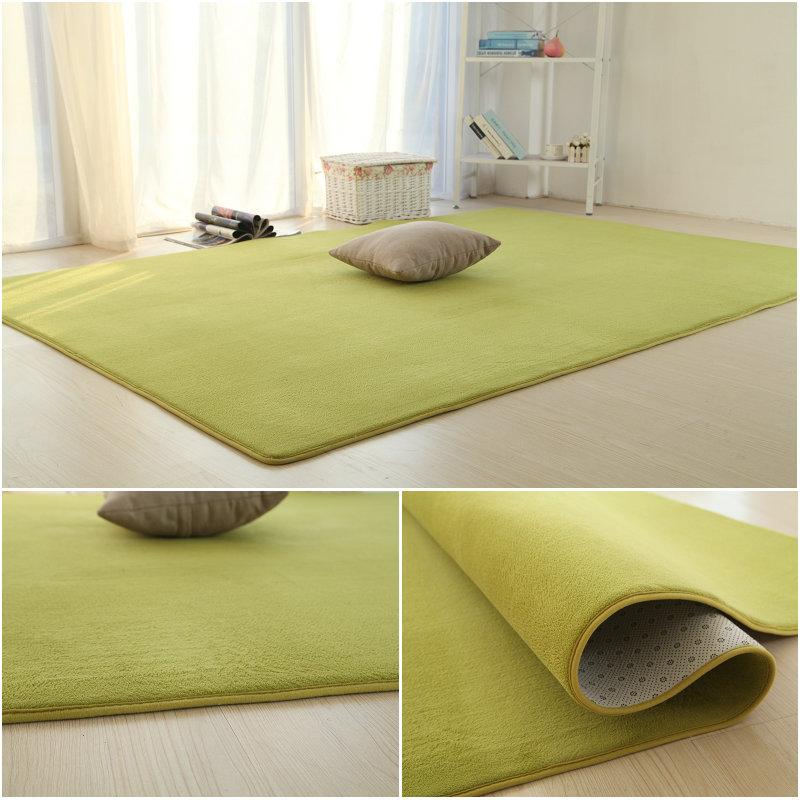 Meja Karpet Tebal Bilik Tidur Serba Rumah Penuh Dapat Disetel Tikar Di Samping Tempat