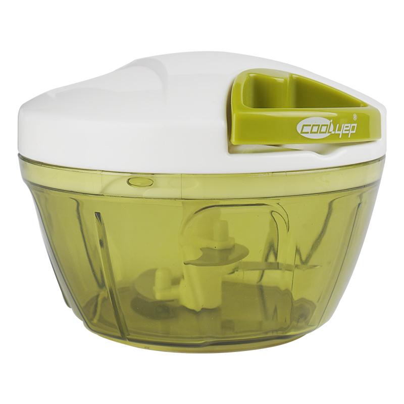 英国酷易 手动绞肉机家用小型绞菜机料理机神器搅拌饺子馅碎菜机_天猫超市优惠券