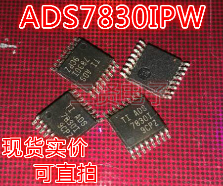 ADS7830I analog-to-digital converter chip can shoot straight tssop-16  package ADS7830IPW
