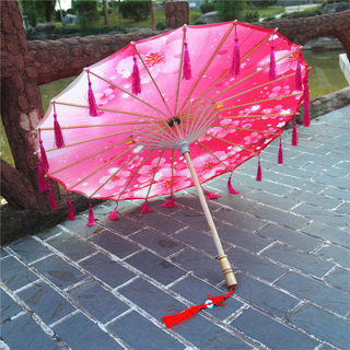 Han clothing props flow Su umbrella Han clothing umbrella ceiling decorative umbrella dance umbrella photography props umbrella dance umbrella