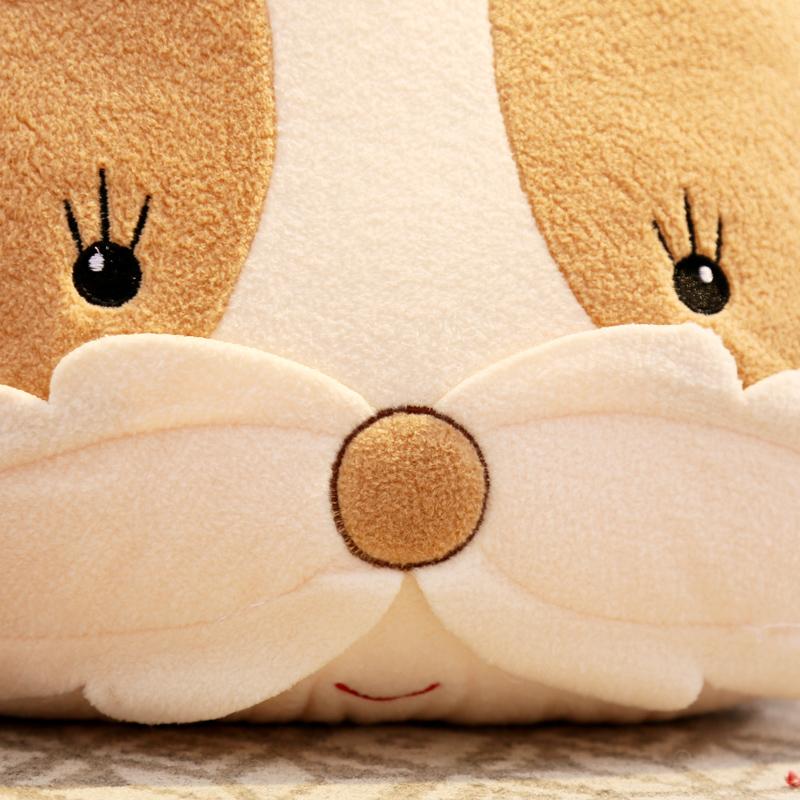可爱小兔子抱枕小猴子靠枕中号毛绒玩具布娃娃玩偶少女心抱枕公仔