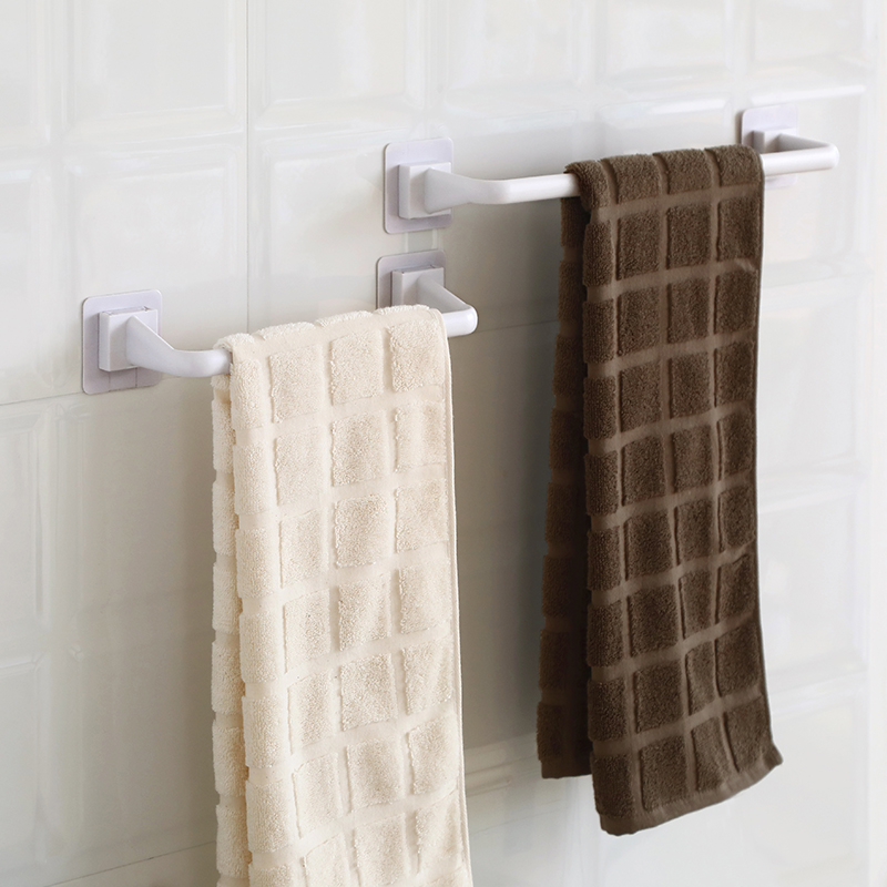 2 Towel Rack Bathroom Hanger Wipe