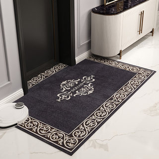 European floor seat pad entry home living room anti-slip soil into the door foot pad door bedroom carpet can be cropped