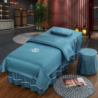 Kale Beauty bedspreads family of four beauty salons and Body shampoo massage treatments simple set-piece bedspread