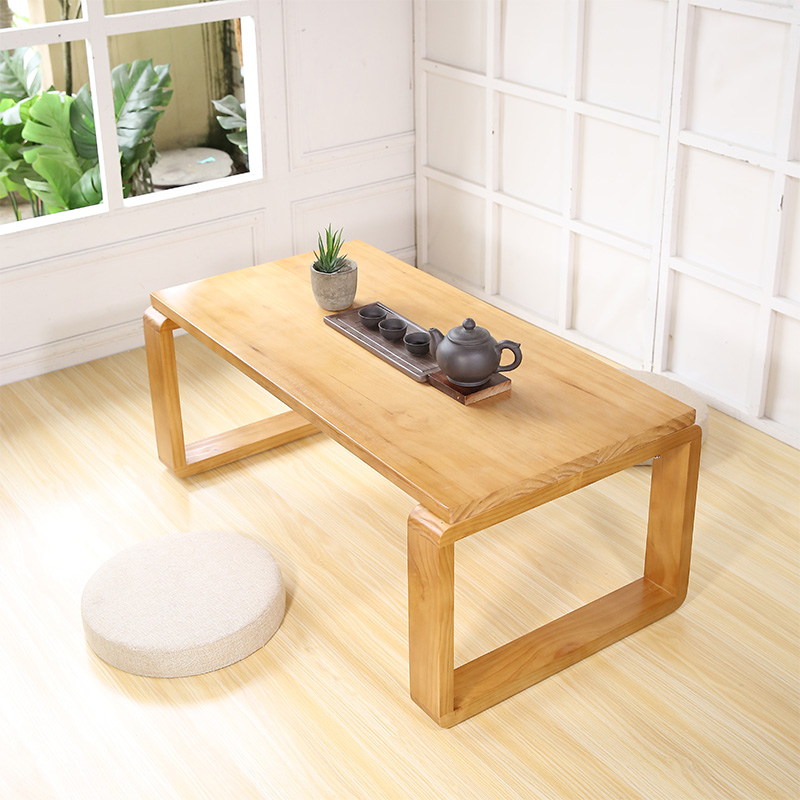 Tatami Coffee Table Small Low Solid Wood Bay Window Simple Anese Sill