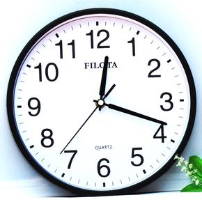 Часы настенные,  Бесплатная доставка немой мода мультики настенные часы ребенок спальня гостиная творческий вешать стол простой стена колокол сельская местность кварц часы, цена 111 руб