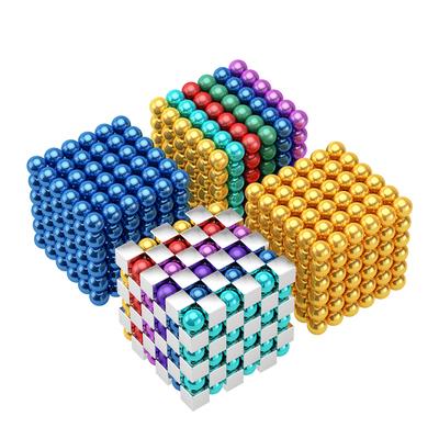 巴克百变球磁力1000颗积木磁铁棒珠儿童吸铁石玩具益智拼装八克球