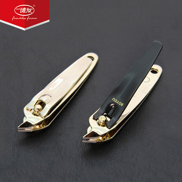 Bo Friends Adult nail clippers curved Bevel nail clippers portable nail clippers pedicure suit full