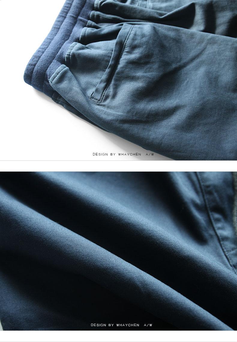 Tide thương hiệu lớn kích thước của nam giới chất béo quần nam cộng với phân bón để tăng thể thao quần quần âu chân lỏng lẻo quần chùm quần